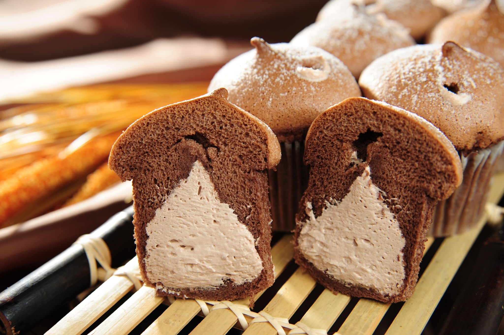 【新巧屋】巧克力爆奶蛋糕 9入/盒