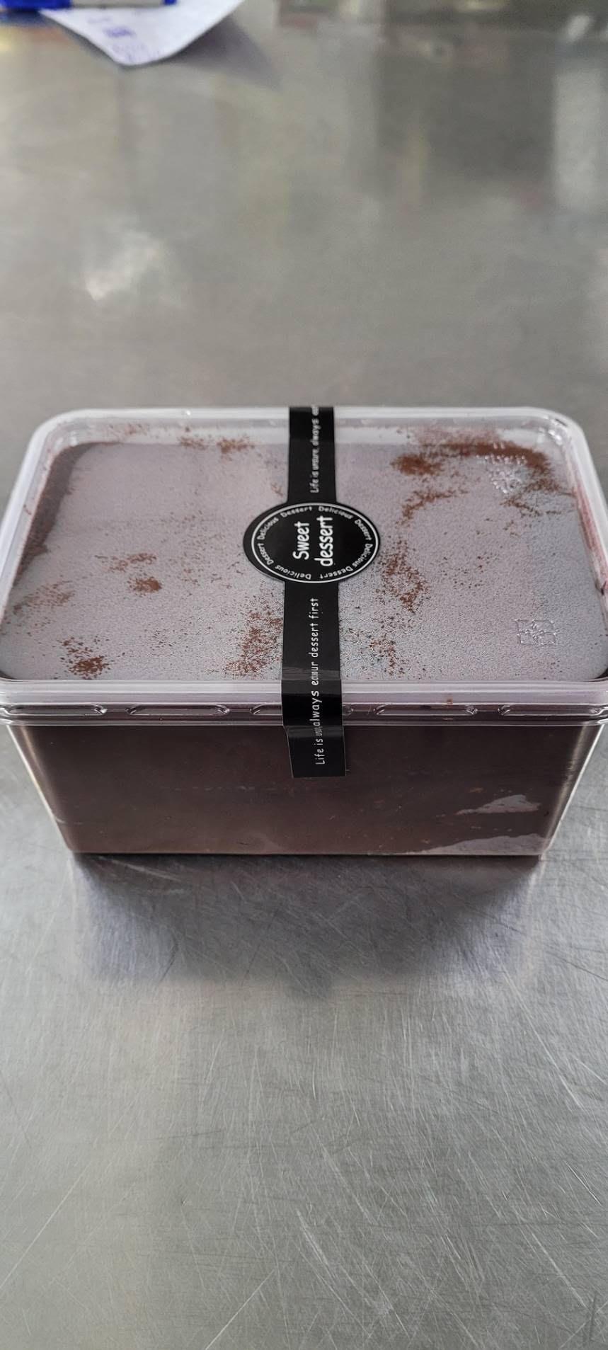 特級苦甜生巧克力寶盒蛋糕